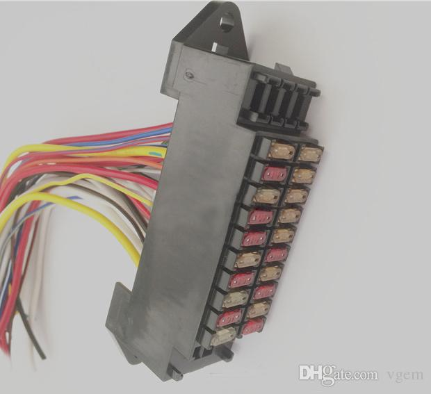 Fuse Box Unit Wiring Diagram