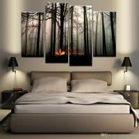 2018 4 Panel Large Canvas Art Modern Abstract Hd Canvas ...