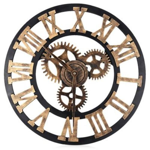 Medium Of Large Wall Clock With Gears