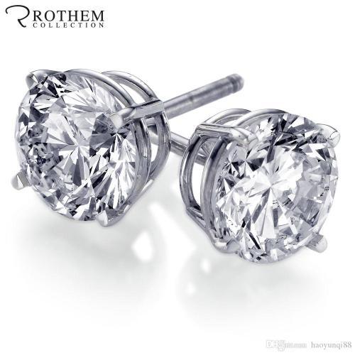Medium Of 1 Carat Diamond Stud Earrings