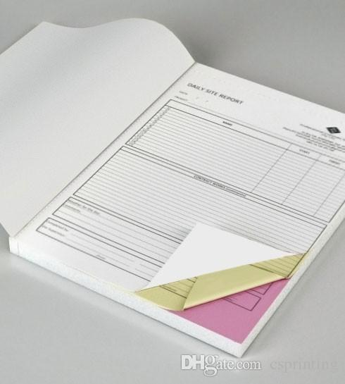 Custom Triplicate Carbonless Invoice Book Manifest Sales Receipt
