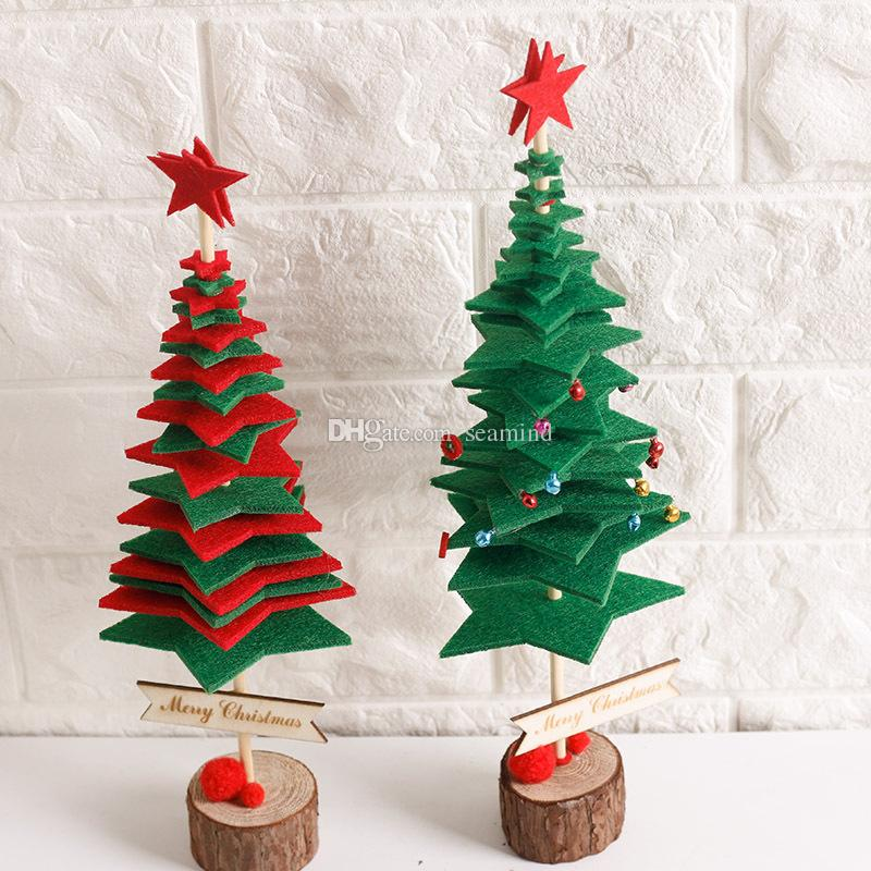decorate paper christmas tree