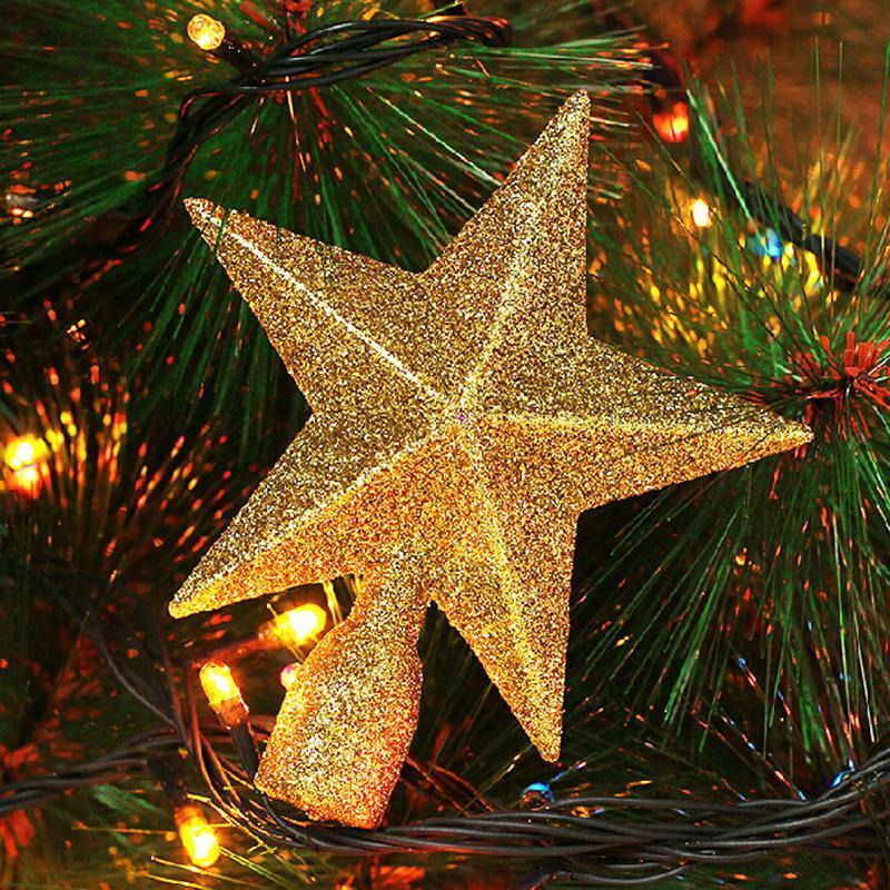 Wholesale Christmas Star Shiny Xmas Decoration Xmas Tree Topstar - christmas star decorations
