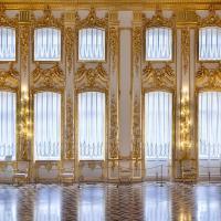 Gold Mosaic White Wall Art Photography Backdrop Bright ...