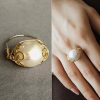 2019 Brand Design Engagement Ring For Women Baroque Real ...