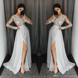 Small Crop Of Long Sleeve Formal Dresses