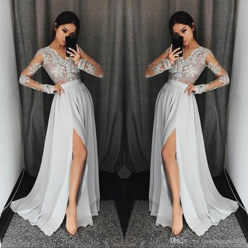 Medium Crop Of Long Sleeve Formal Dresses