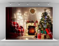 Christmas Photography Backdrops Indoor Christmas Tree ...