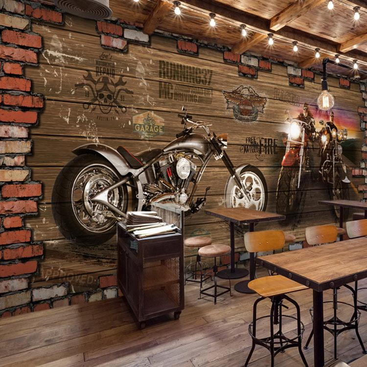 Bikers Quotes Hd Wallpapers Wholesale Internet Cafes 3d Vintage Motorcycle Car Wood