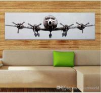 2017 Airplane Art ,Genuine Hand Painted Modern Wall Decor ...