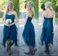 Country Bridesmaid Dresses 2017 Short Hot Cheap For ...