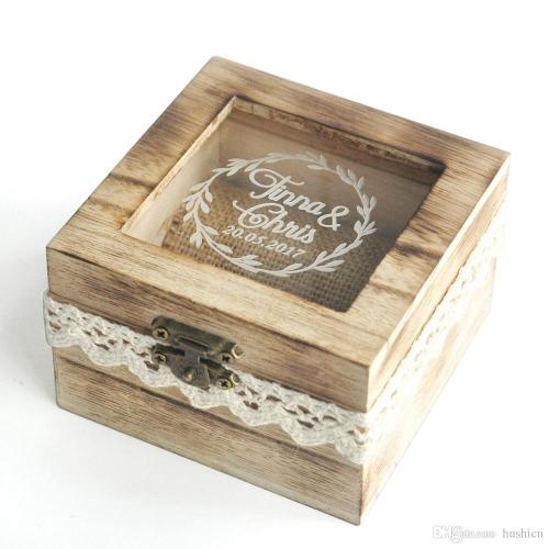 Medium Of Wedding Ring Box