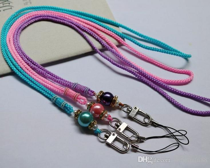 2019 Bling Lanyard Crystal Rhinestone In Neck With Claw