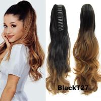 Wholesale Claw Clip Ponytail Hair Extensions 22 Claw Clip ...