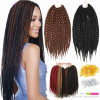 Crochet Box Braids Synthetic Hair Bulks Weave Crochet ...