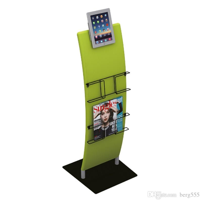 2018 Ipad Stand With Ipad Rack Set Brochure Stand Tension Fabric