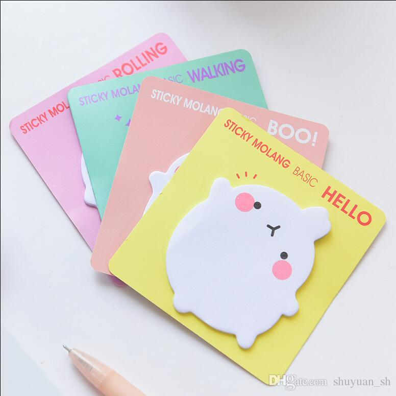 2018 Ly Nt02 Cute Sticky Notes Small Rabbit Note Pad Paper Korean