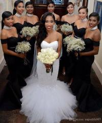 Black Bridesmaid Dresses | www.pixshark.com - Images ...