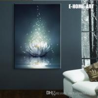2018 Led Lights Wall Art Canvas Spray Painting Light Up ...
