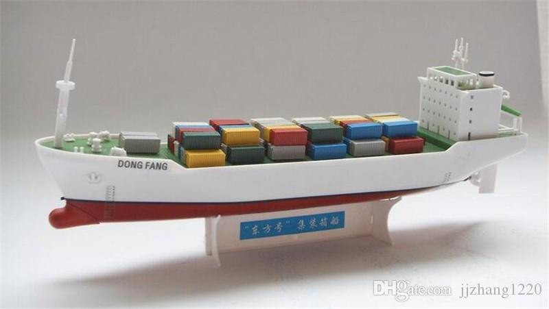 Diy Container Vessel Electric Power Ship Model Can Be In