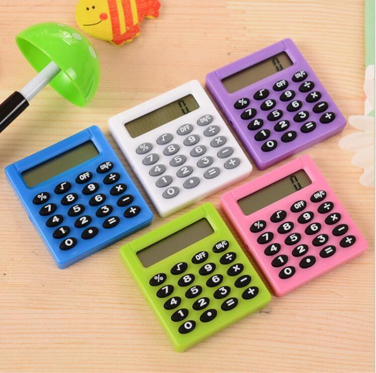 2019 Pocket Cartoon Mini Calculator Ha Ndheld Pocket Type Coin