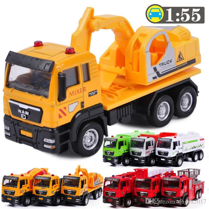 2018 155 Alloy Engineering Vehicles Model Toys City Working Truck
