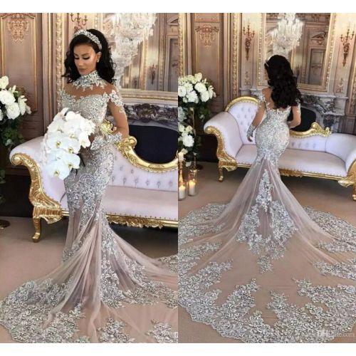 Medium Crop Of Silver Wedding Dresses