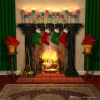 Fireplace Photo Backdrop - Fireplace Ideas