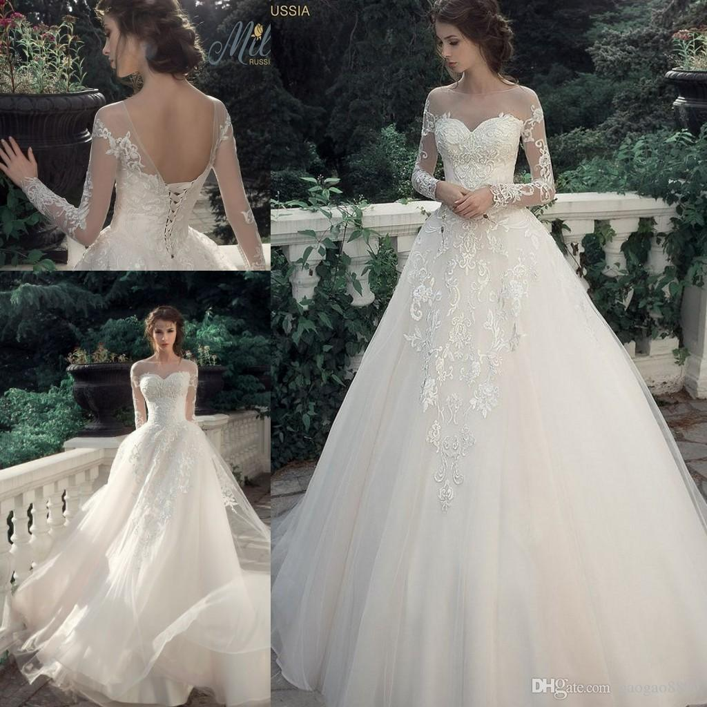 wedding dress bustier lace corset wedding dress milva bridal vintage lace modern princess wedding dresses sheer neck long sleeve plus size country corset top wedding bridal dress