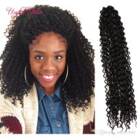 18 Curly Freetress Water Wave Crochet Hair Extensions Free ...