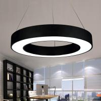 Modern Office Led Circle Pendant Lights Round Suspension ...