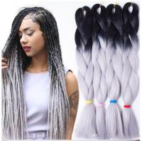 2018 Wholesale 24inch Expression Braid Diy Kanekalon ...