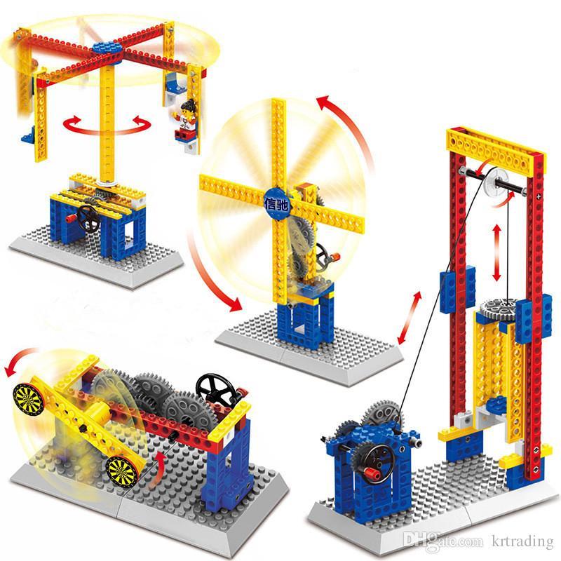 Kids Diamond Building Blocks Toys Little Mechanical Engineer Toys