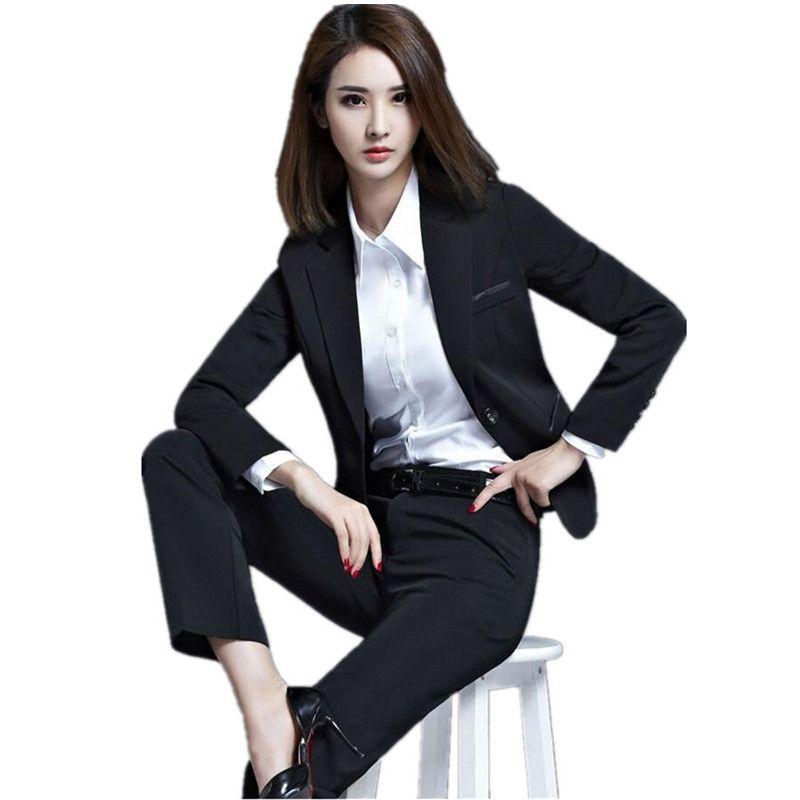 Best Ol Business Attire Women\u0027S Suit Long Sleeve Cultivate One\u0027S