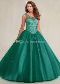 Sweet 16 Dress Teal Quinceanera Dresses for 2017 Ball ...