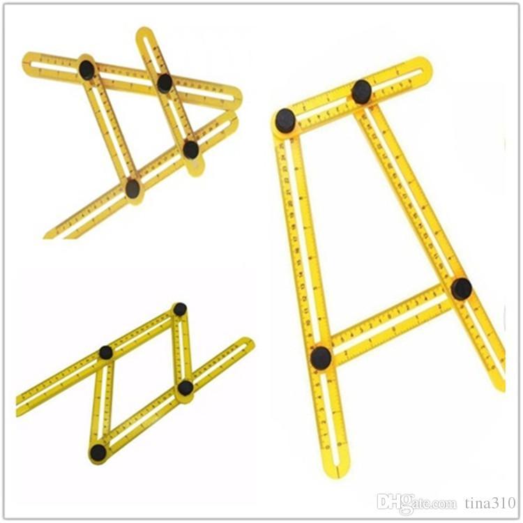 Multi-Angle Plastic Ruler Angle-izer Template Tool Angle Template