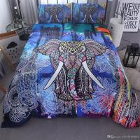 Home Textils India Colorful 3d Elephant Bedding Set ...