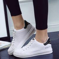 Platform Sneakers Women Shoes Casual Students Hole Korean ...