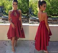 Dark Red Lace Bridesmaid Dress | www.pixshark.com - Images ...