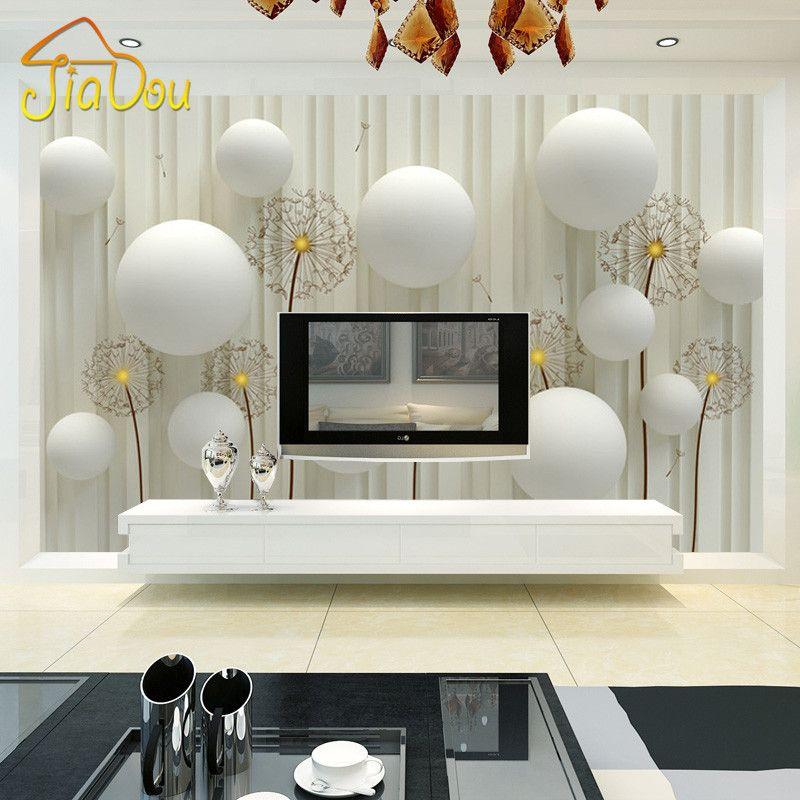 Wholesale Custom Mural Wallpaper 3d Stereo European Style Living - 3d wallpaper for living room