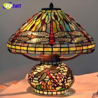 2018 Tiffany Table Lamp Antique Art Decor Dragonfly Living ...