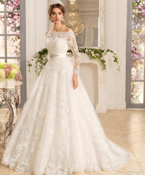 Medium Of Wedding Dresses With Sleeves
