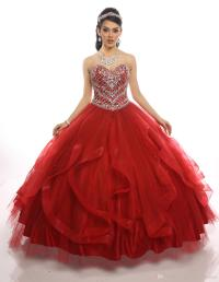 Red Quinceanera Dresses 2017 With Free Bolero Major ...