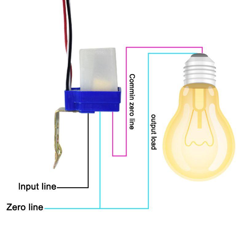Yard Light Photocell Diagram Wiring Schematic Diagram