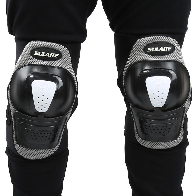 Black Outdoor Sports Knee Guard Strong RC Cycling Skate Bicycle Knee