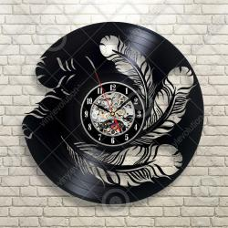 Wondrous Fear Wall Art Custom Vinyl Record Fashion Homefurnishing Decoration Black Wall Clock Black Wallclocks Fear Wall Art Custom Vinyl Record Fashion Home
