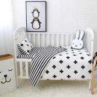 Black And White Stripe King Bedding - Bedding Design Ideas