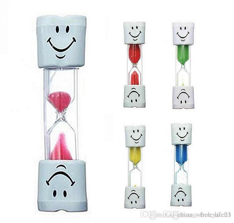 2019 Children Kids Toothbrush Timer 3 Minute Smile Sandglass Tooth