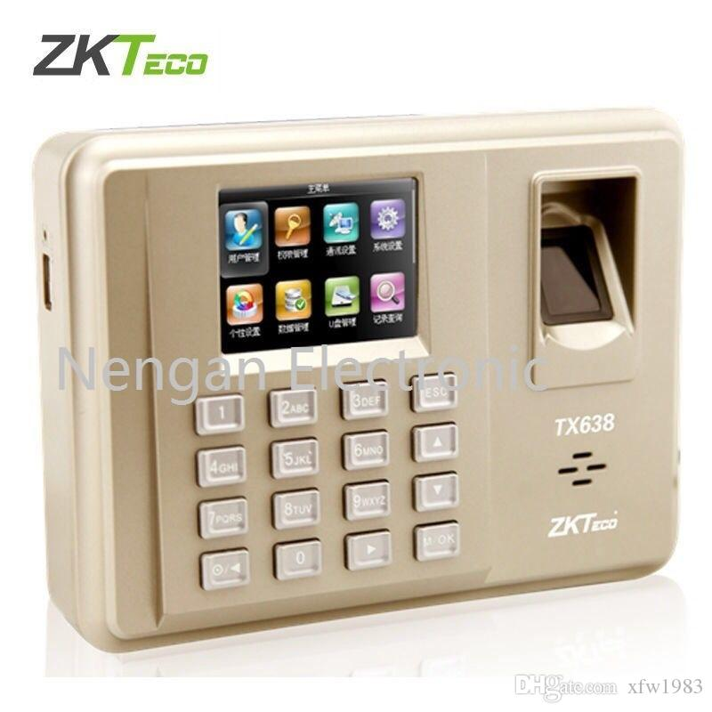 2019 Zkteco TX638 TCP/IP WIFI 125Khz EM Card  Fingerprint Time