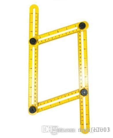 Angle Measure Multi-Angle Ruler Template Tool Measures All Angles